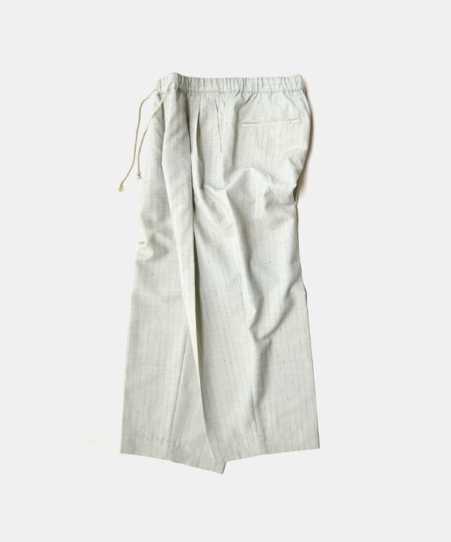 HEALTH EASY PANTS#4 グレーストライプ
