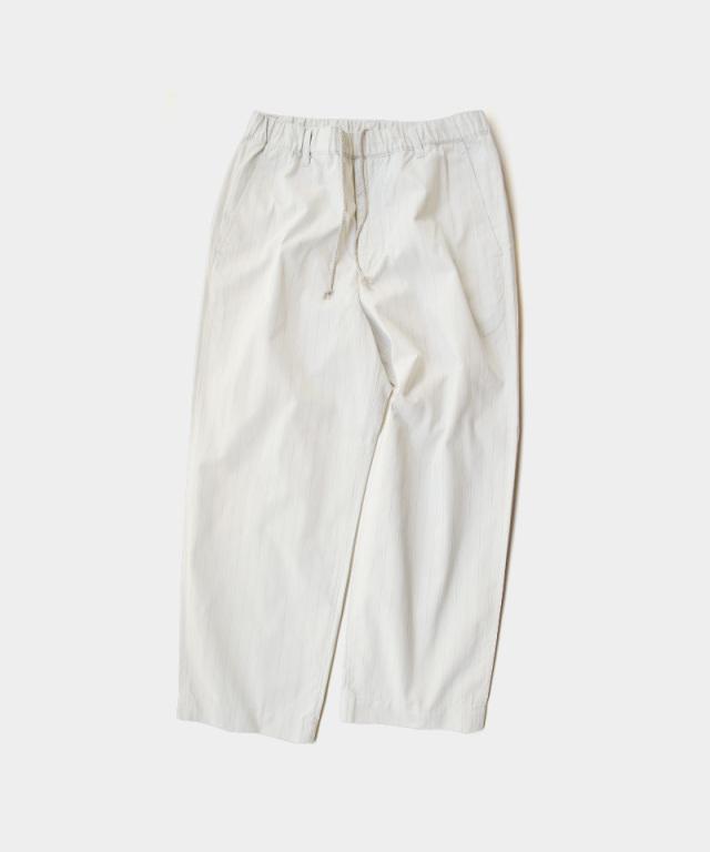 HEALTH EASY PANTS#3 オフホワイトストライプ