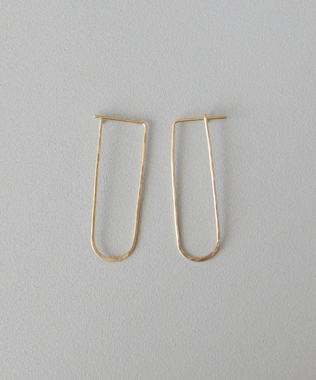 CINQ Frame earrings gold filled