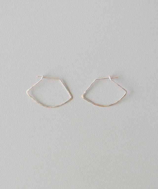 CINQ Curve earrings sterling silver