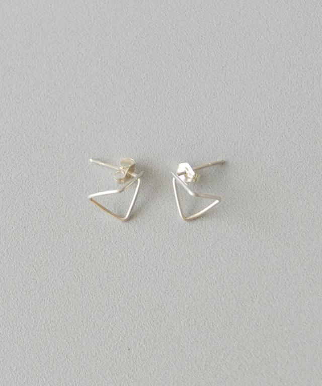 CINQ Pyramide earrings sterling silver