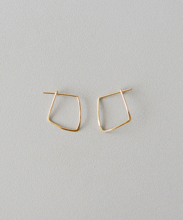 CINQ Vector earrings gold filled