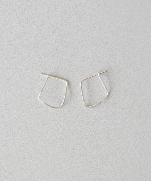CINQ Vector earrings sterling silver