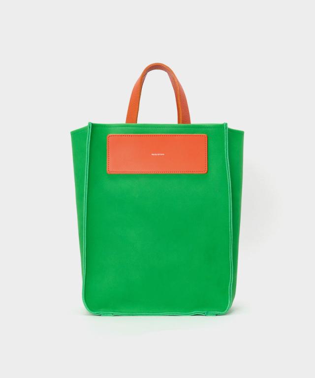 Hender Scheme reversible bag large bright green