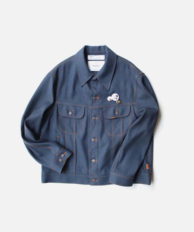 DAIRIKU Johnny Polyester Jacket Navy