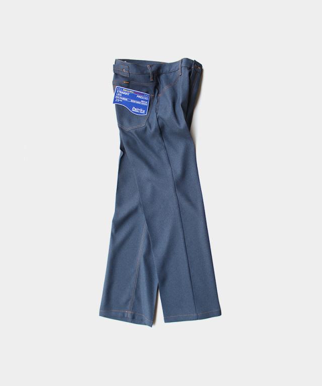 DAIRIKU Straight Flasher Pressed Pants Navy