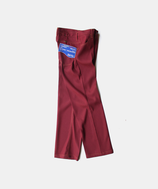 DAIRIKU Straight Flasher Pressed Pants Bodreaux
