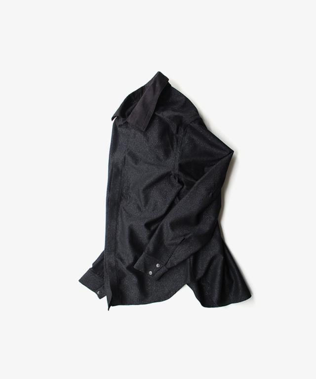 saby COWBOY SHIRT -GLITTER FAB- BLACK