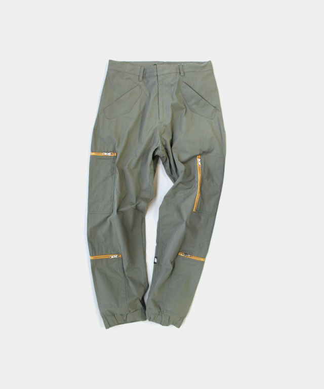 PHINGERIN PLOWING PANTS POCKETS SAGE GREEN
