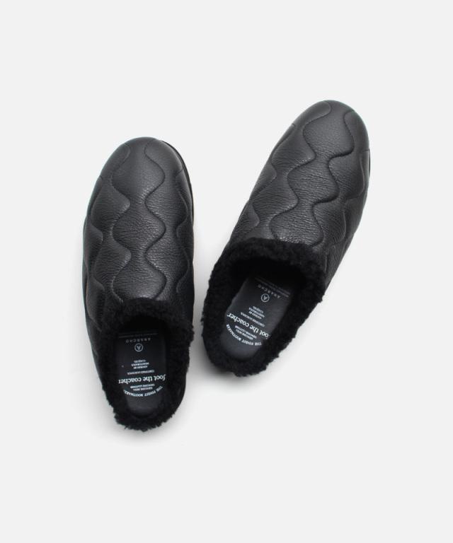 foot the coacher MOC SANDALS(WAVE) BLACK