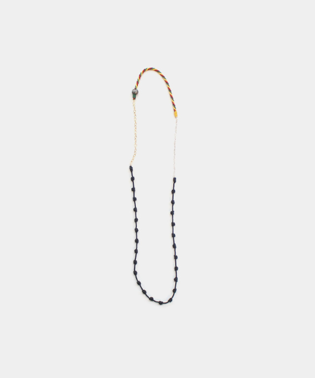 27/9 Necklace Rasta BLACK