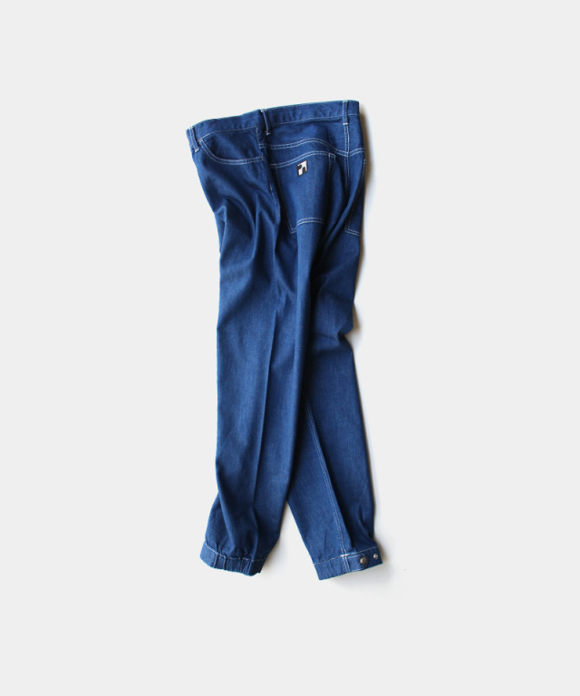 PHINGERIN PLOWDING PANTS DENIM A:BLUE