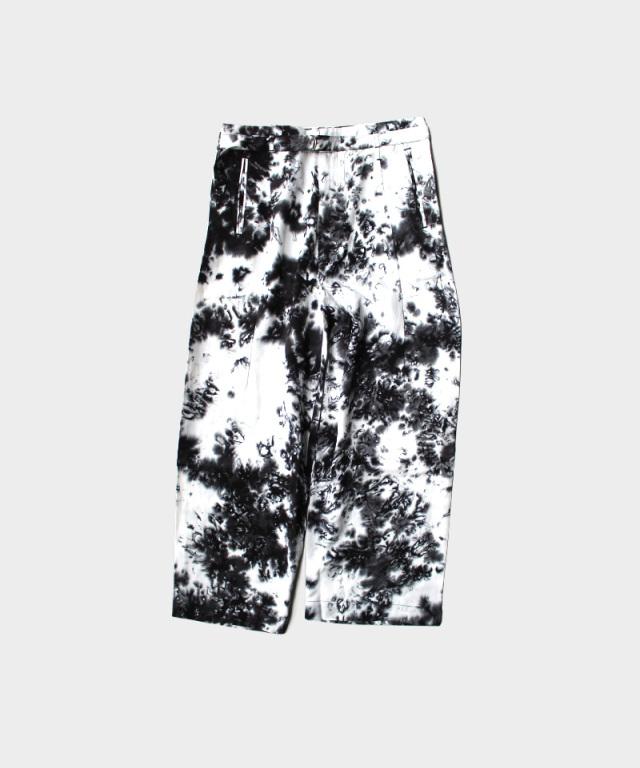 EASY TO WEAR LINEN VISCOSE PANTS SMOG BLACK