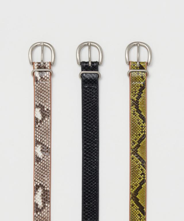 Hender Scheme python tanning belt natural