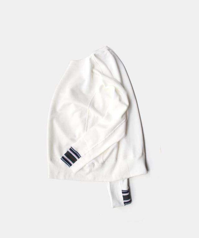 QUILP Sweat Shirt WHITE