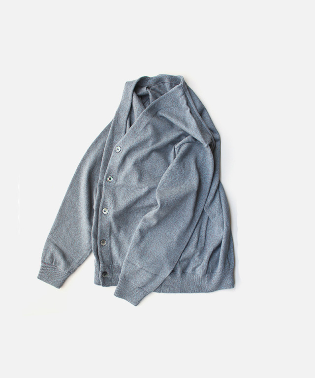 crepuscule Moss stitch V/N cardigan Gray
