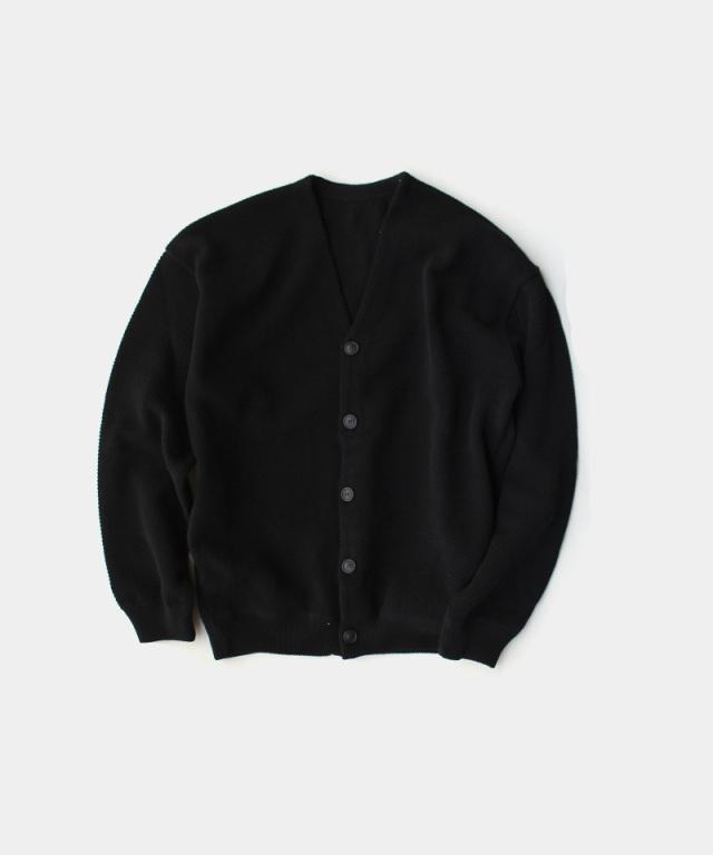 crepuscule Moss stitch V/N cardigan