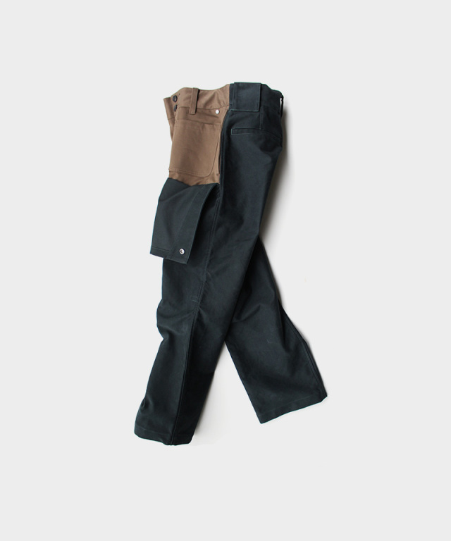 QUILP Motorcycle trouser VRIDIAN Mole Skin
