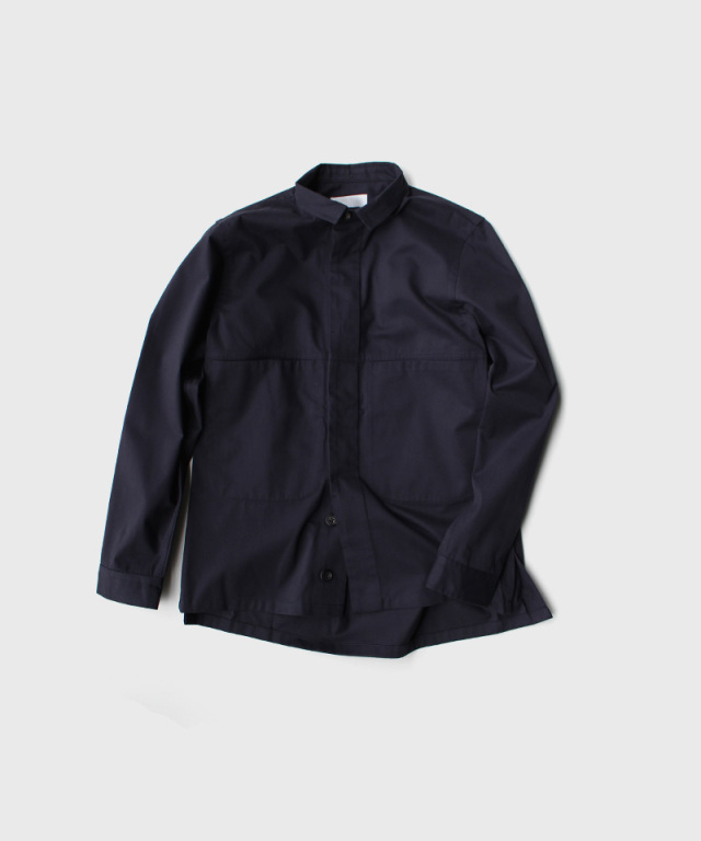 QUILP Shirt Jacket NAVY