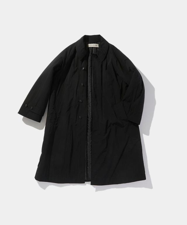 POLYPLOID LONG COAT C BLACK