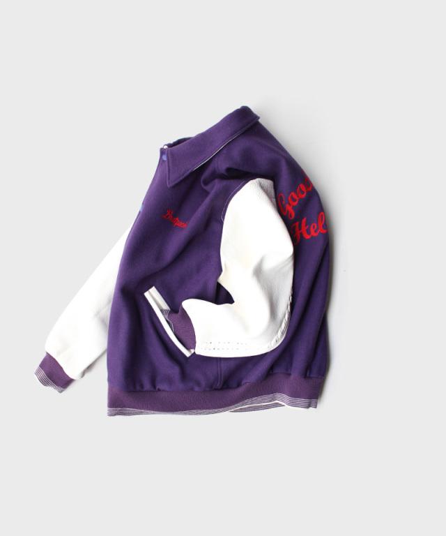 DAIRIKU Andrew Stadium Jacket Purple