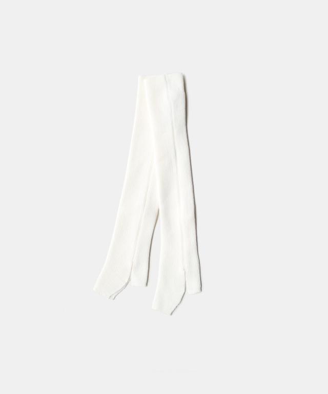TAN LEG COVER WHITE