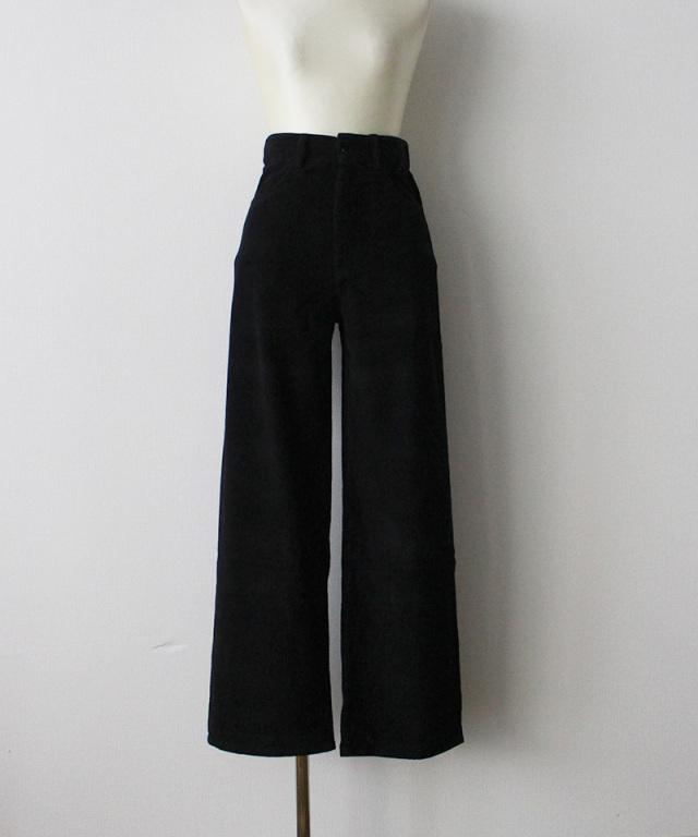 BASERANGE NAVALO PANTS BLACK