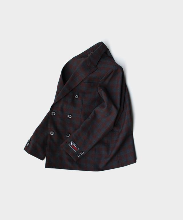 DAIRIKU Emilio Double Tailored Jacket Check