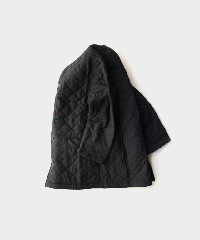 EASY TO WEAR CANVAS QUILT BLACK