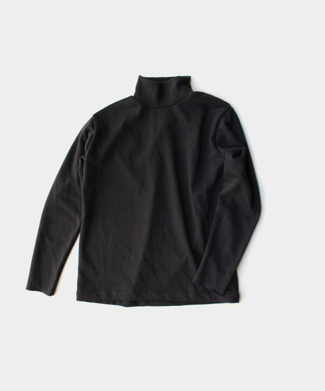 EASY TO WEAR HIGH NECK BLACK