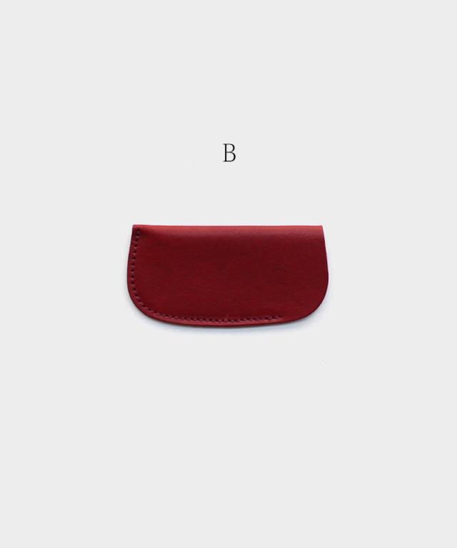 KOST KAMM Mini pocket comb case Vegetable Tanned Leather Case B