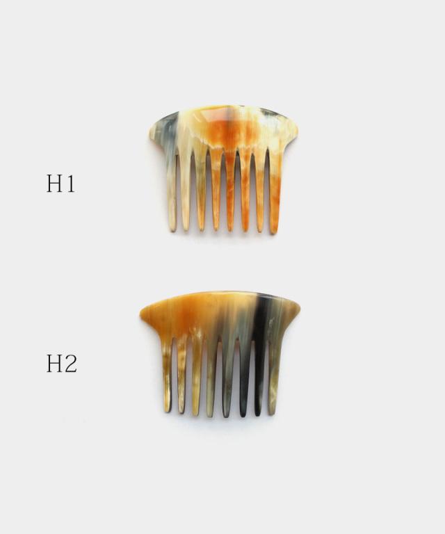 KOST KAMM Hair stick Water-Buualo Horn / 16cm / 2-teeth / long G