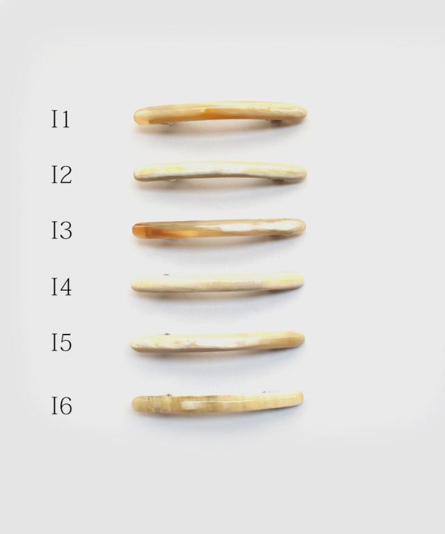 KOST KAMM Devcorative comb Water-Buffalo Horn / 12×8cm / 8-teeth H
