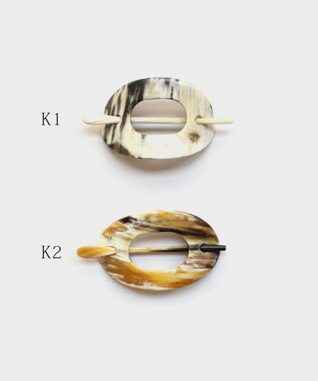 KOST KAMM Hair clip with stick Water-Buffalo Horn K