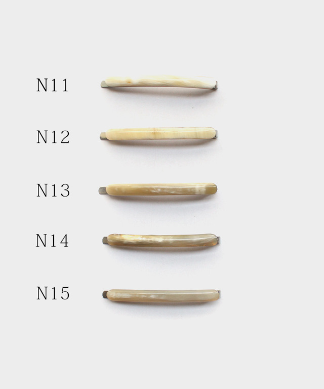 KOST KAMM Hair clip Horn / extra slender shape / 5cm N