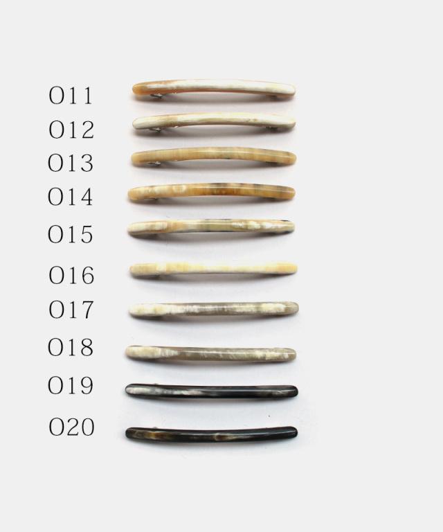 KOST KAMM Hair clip Horn / extra slender shape / 10cm O