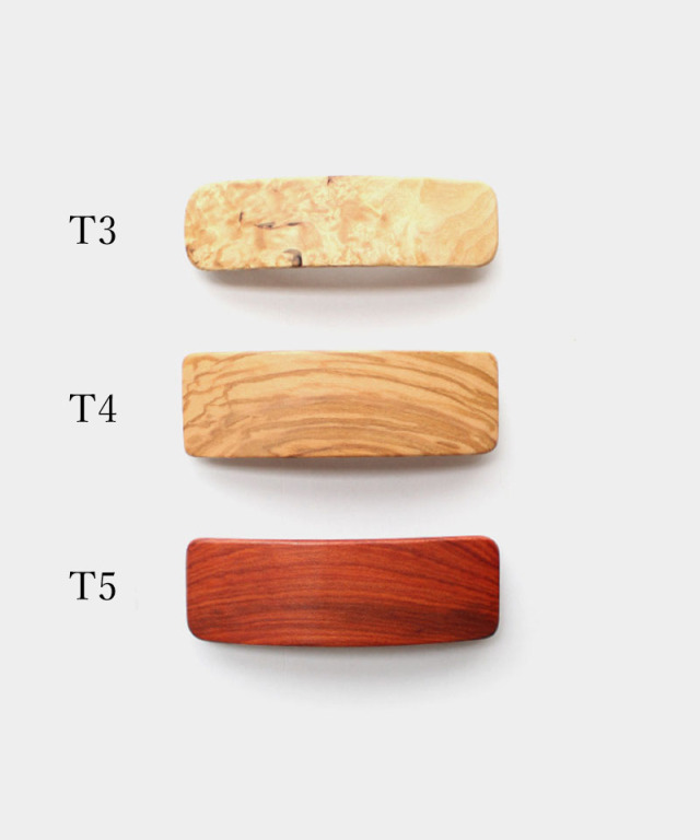 KOST KAMM Hair clip Natural Wood / 8cm T - Ladys