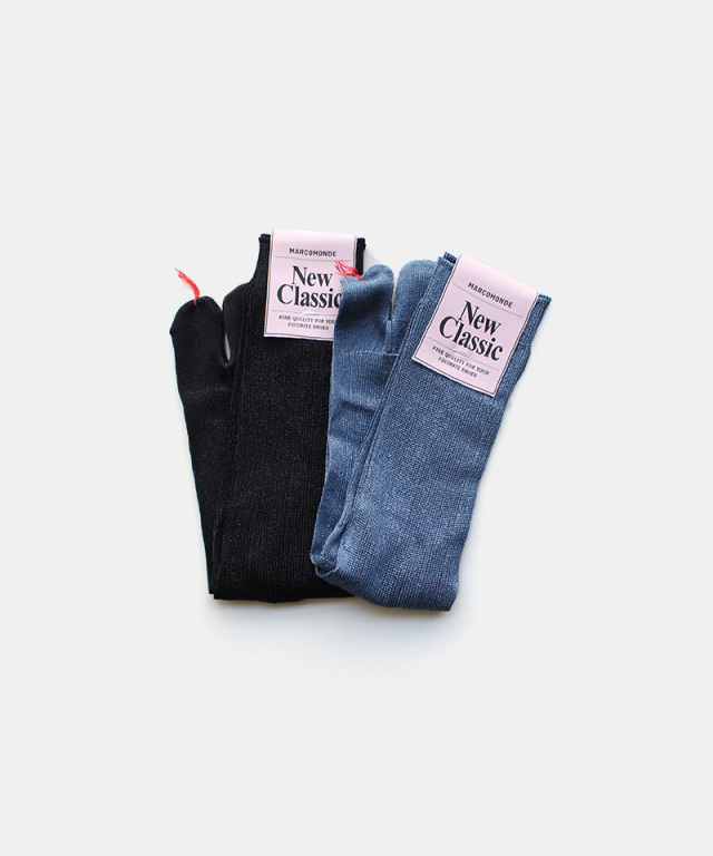MARCOMONDE lame tabi socks