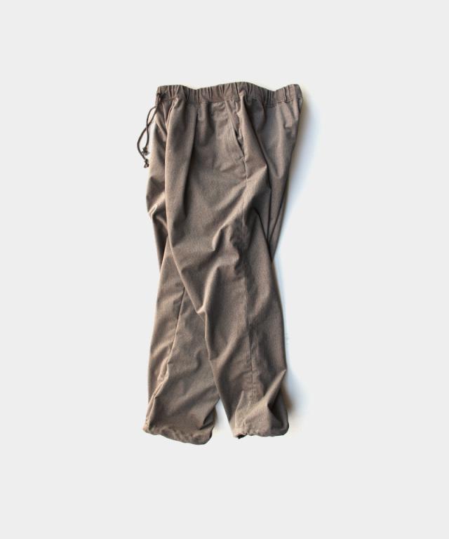 HEALTH EASY PANTS #6 ブラウンヘリンボーン