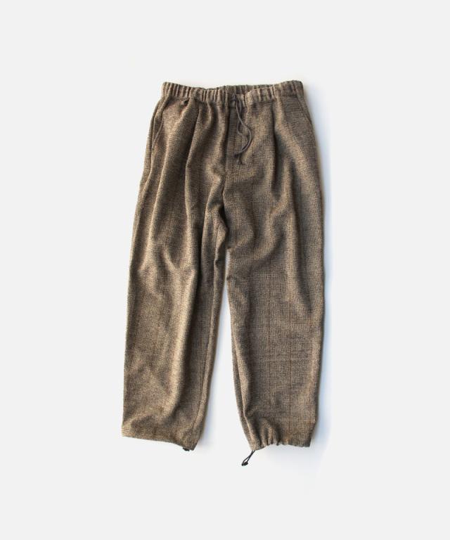 HEALTH EASY PANTS #6 ブラウンストライプ