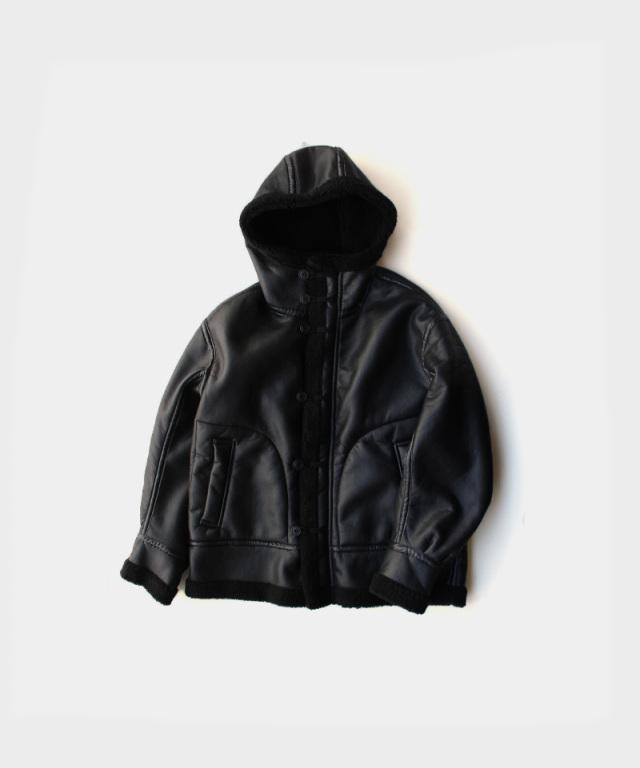 CURLY BROMLEY B7 PARKA BLACK/BLACK