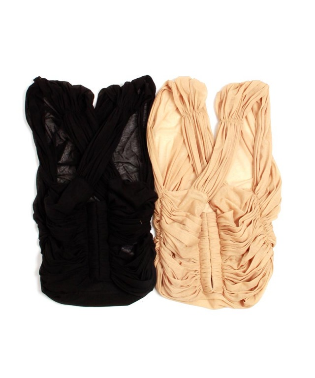 mame Cotton Jersey Bustier