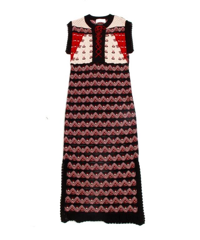 mame Pedicel Summer Knit Dress