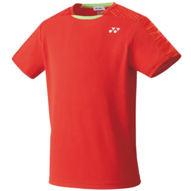 【40%OFF】ヨネックス ユニ ゲームシャツ(フィットスタイル) カラー: サンセットレッド(496) 品番:10365