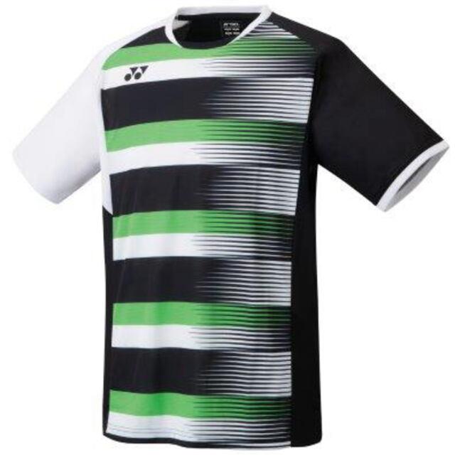 ヨネックス MEN ゲームシャツ(フィットスタイル)  カラー:ブラック(007)  品番:10394