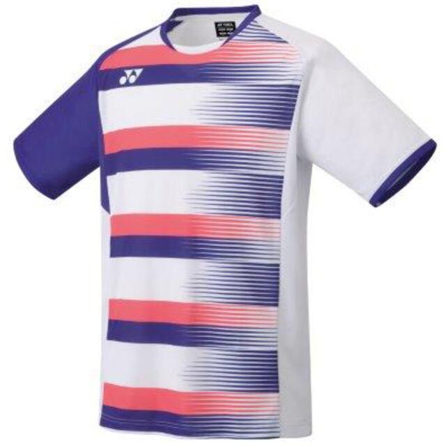 ヨネックス MEN ゲームシャツ(フィットスタイル)  カラー:ホワイト(011)  品番:10394