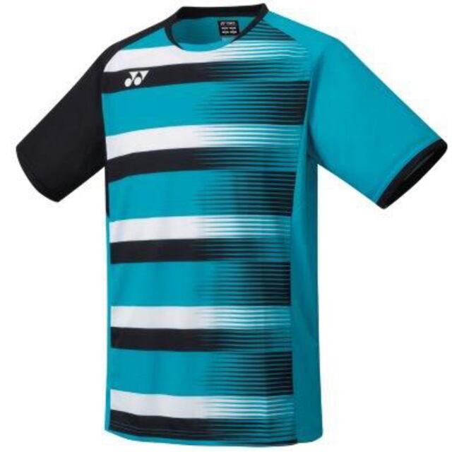 ヨネックス MEN ゲームシャツ(フィットスタイル)  カラー:ターコイズ(161)  品番:10394