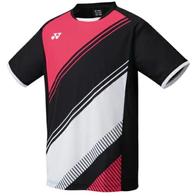 【40%OFF】ヨネックス MEN ゲームシャツ(フィットスタイル)  カラー:ブラック(007)  品番:10395
