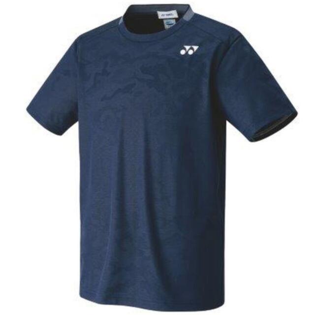 ヨネックス UNI ゲームシャツ(フィットスタイル) カラー:ネイビーブルー(019) 品番:10409