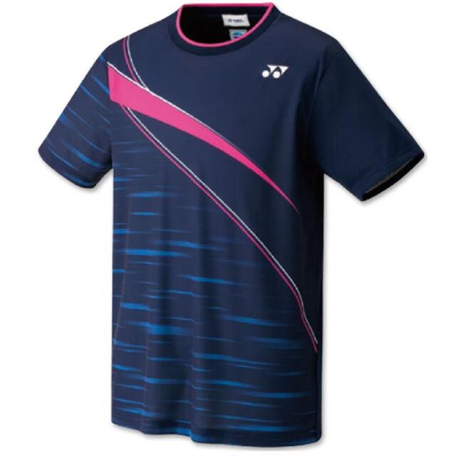 ヨネックス UNI ゲームシャツ(フィットスタイル) カラー:ネイビーブルー(019) 品番:10410